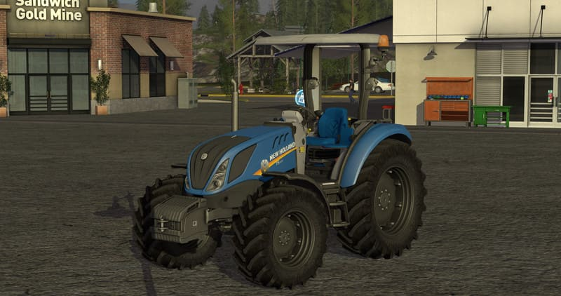 Мод трактор NEW HOLLAND T5 V1.3 Farming Simulator 2017