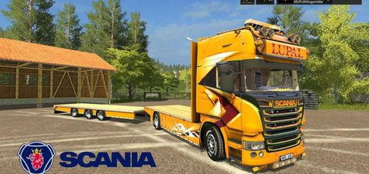 Мод ПАК SCANIA LUPAL V1.0.0.2 Farming Simulator 2017