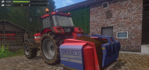 Мод кормосмеситель SILOKING AE 1800 - FOOD MIXER V1.0.0.0 Farming Simulator 17