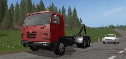 Мод грузовик TATRA TERRNO ITR V1.0 Farming Simulator 17