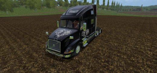 Мод тягач VOLVO 780 VE TRUCK V1.1 Farming Simulator 2017