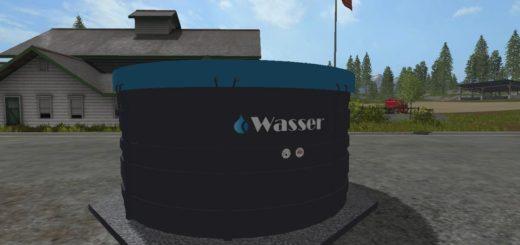 Мод точка набора воды WASSERTANK V1.0 FS17
