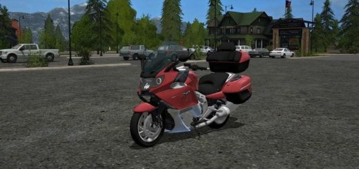Мод мотоцикл BMW K 1600 GTL V1.0 Farming Simulator 2017