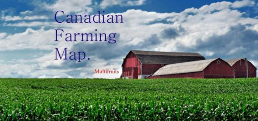 Карта CANADIAN FARMING MAP 1 FINAL для Farming Simulator 2017