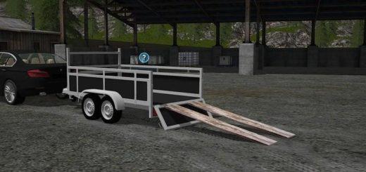 Мод прицеп HAPERT TANDEM TRAILER V1.0.0.1 Farming Simulator 17