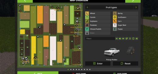 Мод карта Hidden Hollow v 1.0.0.1 Farming Simulator 17
