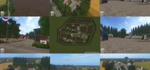 Мод карта HOLLAND LANDSCAPE 2017 BC6 EDITION V2.0 FS17
