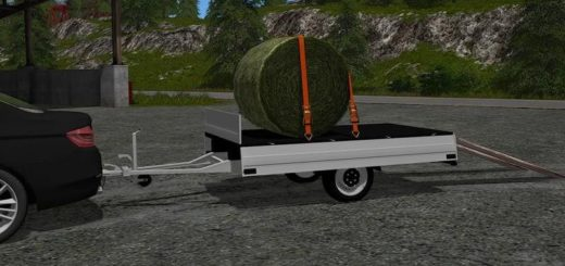 Мод прицеп HUMBAUR 1-AXLE TRAILER V1.0.0.1 Farming Simulator 17