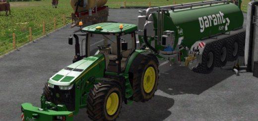 Мод трактор John Deere 8xxxR v 3.5 Farming Simulator 2017
