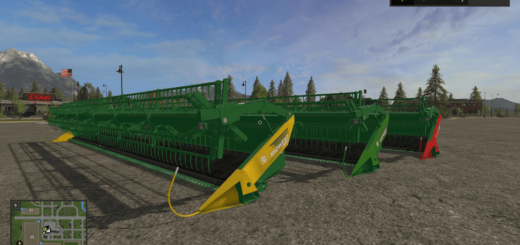 Мод ПАК жаток MIDWEST HEADERS PACK V1.0 Farming Simulator 17