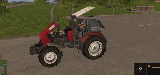 Мод трактор МТЗ 1221 v1.6 Фермер Симулятор 2017