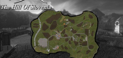 Мод карта THE HILL OF SLOVENIA V1.0.0.1 Farming Simulator 2017