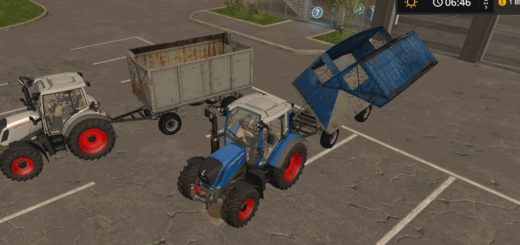 Мод ПАК силосных прицепов BSS v 0.1 Farming Simulator 2017