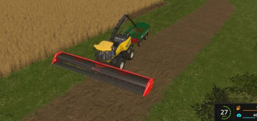 Мод жатка CAPELLO HELIANTHUS FORAGER 12000 V1.0 Farming Simulator 2017
