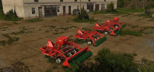 Мод культиватор AGRO-MASZ AP30 V1.0 Farming Simulator 2017