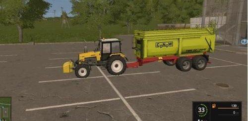 Мод прицеп Conow TMK 22/7000 v 1.1 Farming Simulator 17