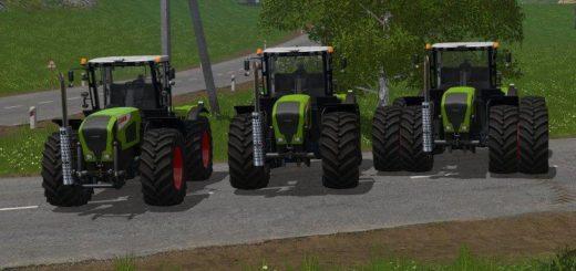 Мод трактор CLAAS XERION 3000 SERIES V1.0.0.0 FS17