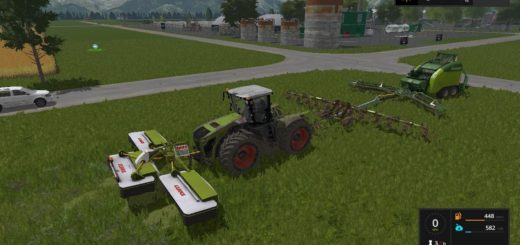Мод ПАК Claas 3200 and Krone Ultima Balers with front Nadal v1.0 FS17