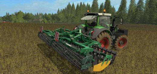 Мод культиватор KERNER HELIX 600 - DH V1.0.0.0 Farming Simulator 2017