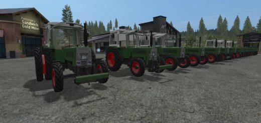 Пак FENDT FARMER 100 PACK V1.0.0.0 для Farming Simulator 2017