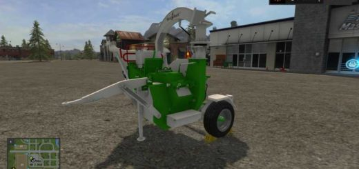 Мод щеподробилка HEIZOMAT V1.0 Farming Simulator 2017