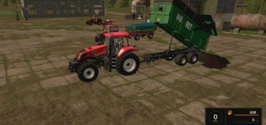 Мод прицеп Huret t 16 v 1.1 Farming Simulator 2017