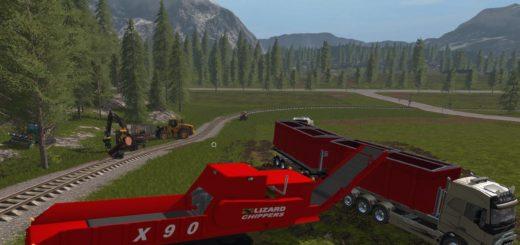 Мод кузов IT RUNNER CONTAINER V1.0.0.0 Farming Simulator 2017