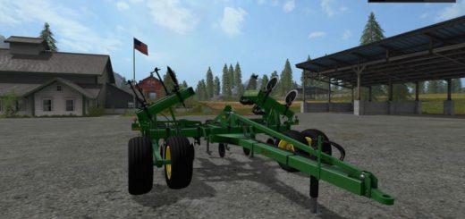 Мод плуг JOHN DEERE 2100 V1.1 Farming Simulator 17