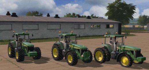 Мод трактор JOHN DEERE 8400/8410 MORE REALISTIC V2.1 FS17
