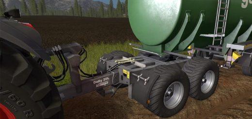 Мод подкатная тележка KRAMPE DOLLY 20L V1.0 Farming Simulator 17