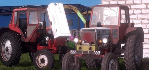 Мод трактор МТЗ 80 v1.0 Фарминг Симулятор 2017