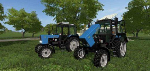 Мод трактор МТЗ-82 V2.0.0.0 Фермер Симулятор 2017