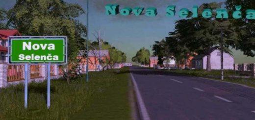 Мод карта NOVA SELENCA MAP V1.2 Farming Simulator 2017