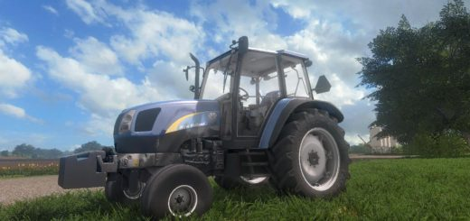 Мод трактор NEW HOLLAND T5000 V1.2 Farming Simulator 17