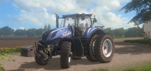 Мод трактор NEW HOLLAND T7 V1.1 Farming Simulator 2017
