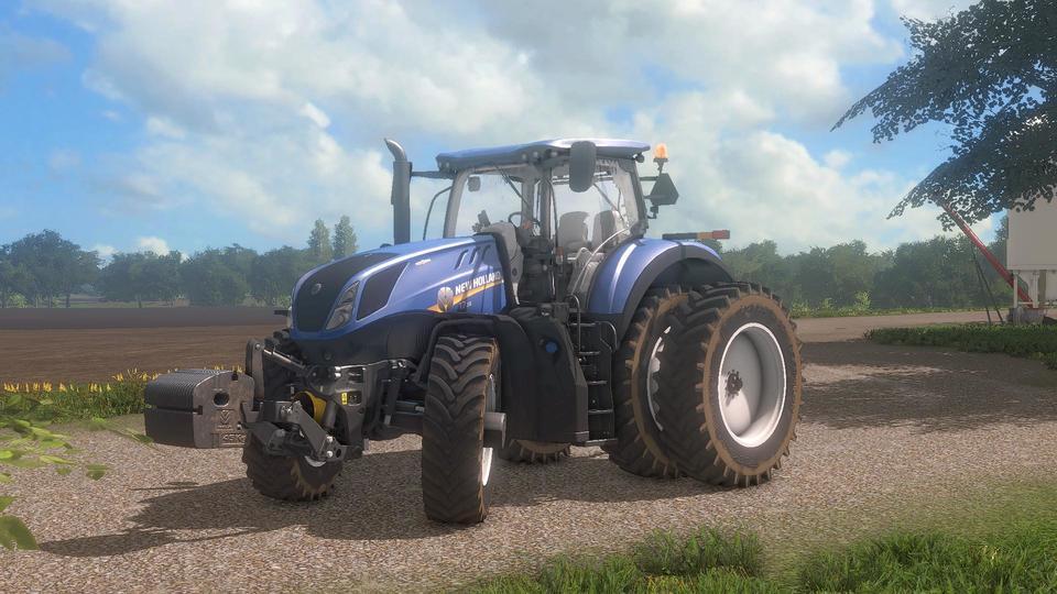Мод трактор NEW HOLLAND T7 V1.1 Farming Simulator 2017
