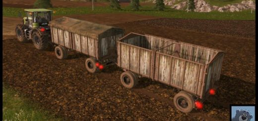 Мод прицеп OLD KROEGER V2.0 Farming Simulator 2017