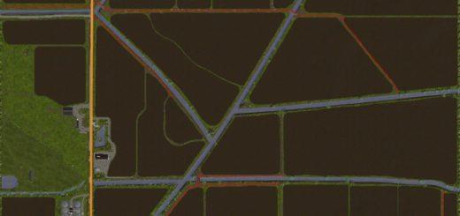 Мод карта SOUTHERN PARISH V3.1.0 Farming Simulator 2017