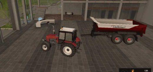 Мод прицеп Thalhammer Dumper v 1.1 Farming Simulator 17