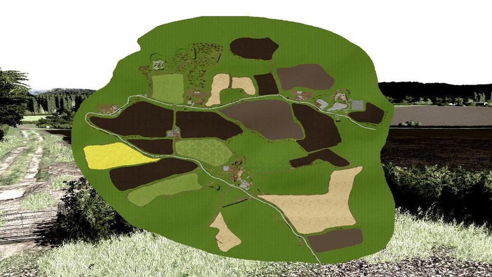 Мод карта THORNBROOK 1.0.0.0 Farming Simulator 2017