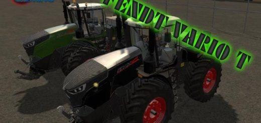 Мод ПАК тракторов FENDT VARIO T FL PACK BLACK / GREEN V4.0 FS17