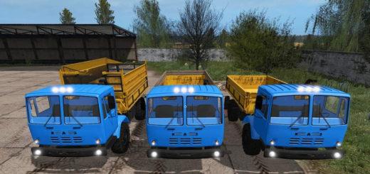 Мод грузовик КАЗ-4540 v1.0.1 Фермер Симулятор 2017