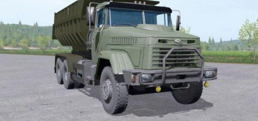 Мод грузовик КрАЗ 65055 v4.0 Фермер Симулятор 2017