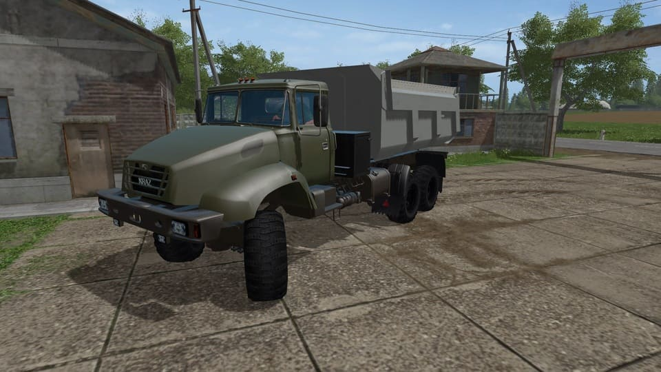 Мод грузовик Краз-18В v 1.3 edit Фарминг Симулятор 2017