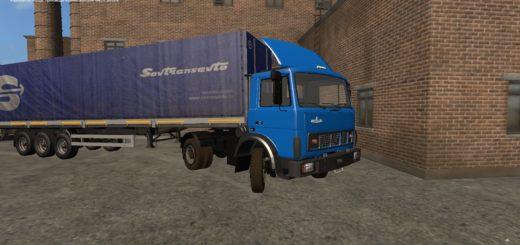 Мод грузовик Маз-5432 v1.0 Фарминг Симулятор 2017