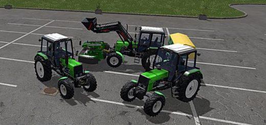 Мод трактор МТЗ-1025 v2.0 Фарминг Симулятор 2017