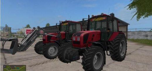 Мод трактор МТЗ-1220.3 v2.0 edit Фарминг Симулятор 2017