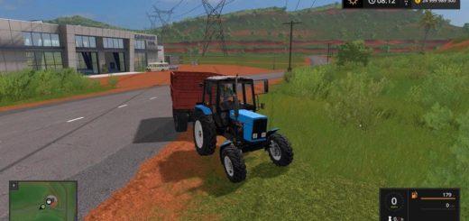 Мод трактор МТЗ 82.1 БЕЛОРУС V2.3 Фермер Симулятор 2017