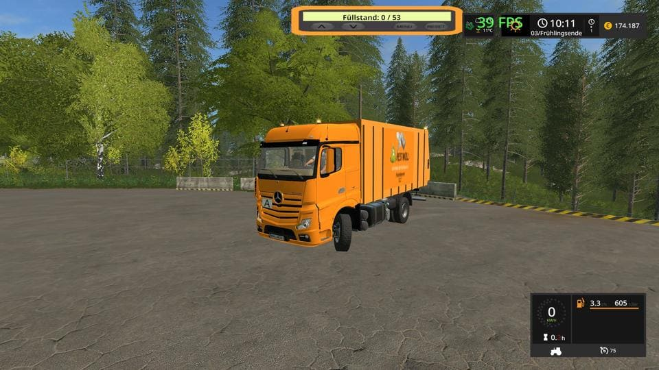 Мод LKW RUBBISH CART UAL V1.0 Farming Simulator 2017