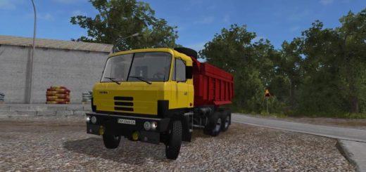 Мод грузовик Tatra-815 v1.2 Фермер Симулятор 2017